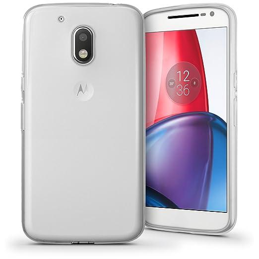 6 opinioni per igadgitz Trasparente Chiaro Lucido Protettiva Custodia Gel TPU per Motorola Moto