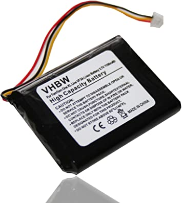 1100mAh Batería para TomTom Pro 6027A0090721