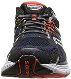 Saucony Men's Omni 14 Running Shoe, Navy/Red,7.5 M US