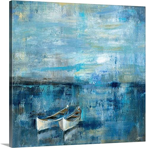 Two Boats Canvas Wall Art Print