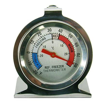 Degrees In C /& F Premium Thermometer for Refrigerator Fridge Freezer