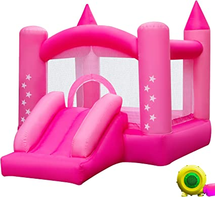 Amazon.com: Happybuy - Castillo inflable para el aire libre ...