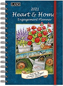 Lang Heart & Home 2021 Spiral Engagement Planner (21991011085)