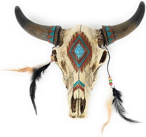 Rustic Southwest Bull Skull