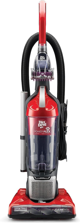 Dirt Devil Power Flex Sin bolsa 2L Negro, Rojo - Aspiradora escoba (Sin bolsa, Negro, Rojo, 2 L, Secar, Ciclónico, HEPA, Cyclonic/filtering): Amazon.es: Hogar