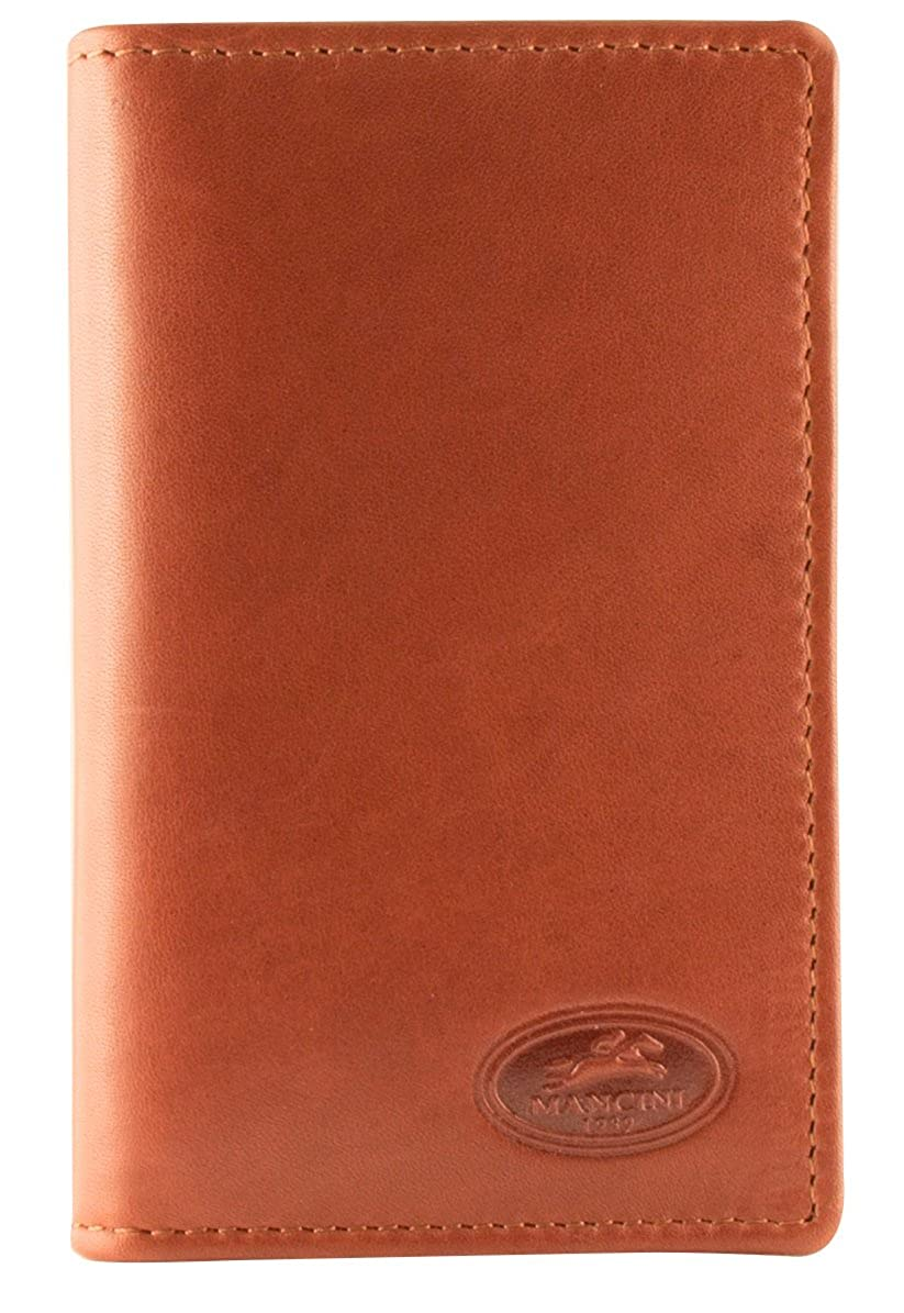 Mancini Leather Goods Manchester Collection Mens RFID Hipster Wallet