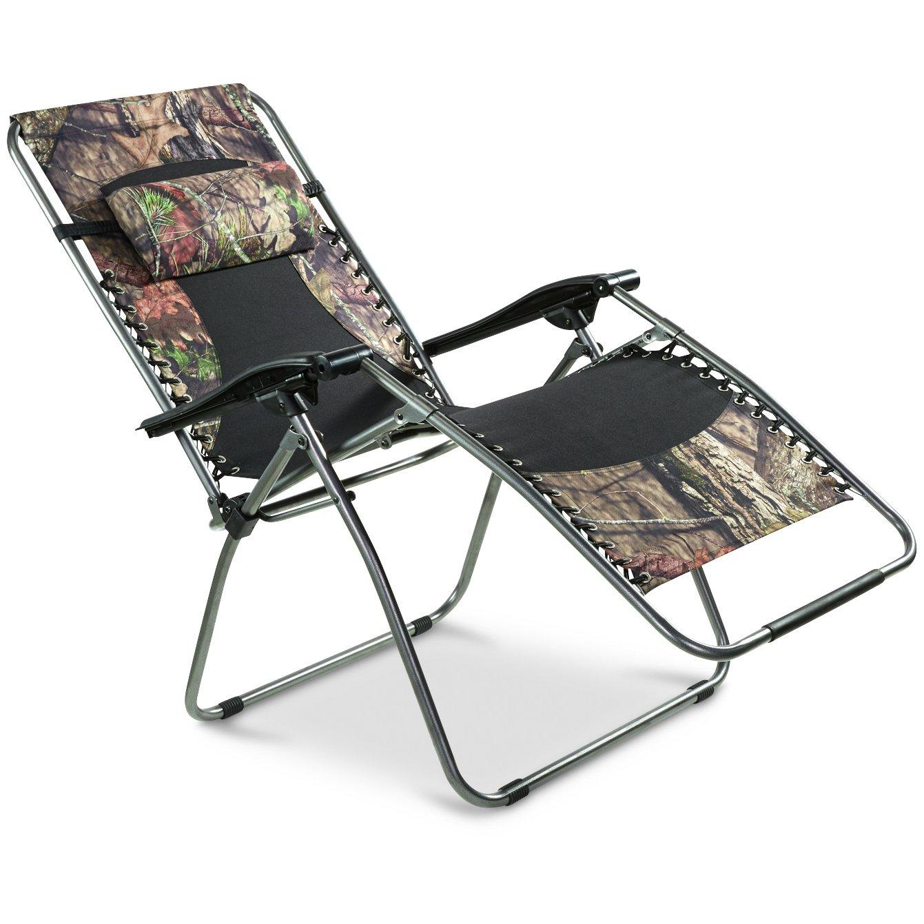 ガイドギアOversized zero-gravity椅子500 lb。、カモ B01C8XO8S6