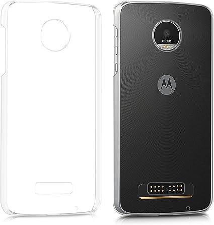 kwmobile Funda Compatible con Motorola Moto Z Play: Amazon.es: Electrónica