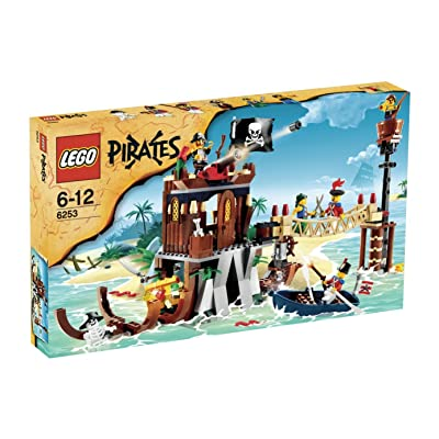Lego Pirates Exclusive Limited Edition Set #6253 Shipwreck Hideout: Toys & Games