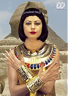 WIDMANN WDM8512C – Collar y Pulseras de Estilo Cleopatra, Multicolor, Talla única
