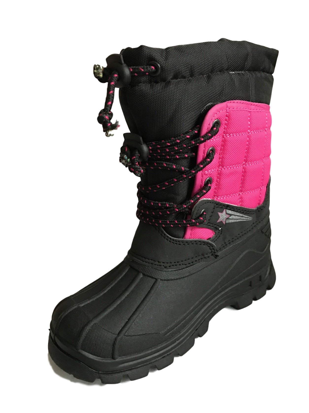 Kids Childrens Boys Spiderman Black Wellies Snow Rain Wellington Boots Size 8-2