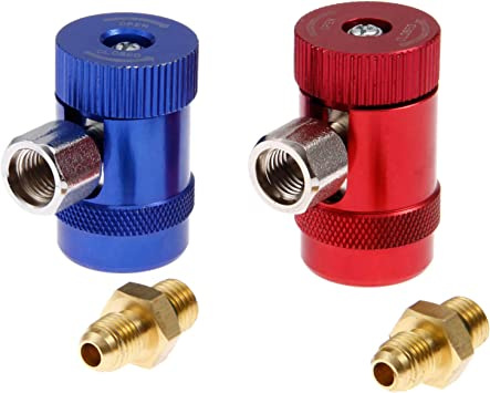 Low Side R1234yf A//C Quick Adapters Conversion Tools With Manual Couplers High