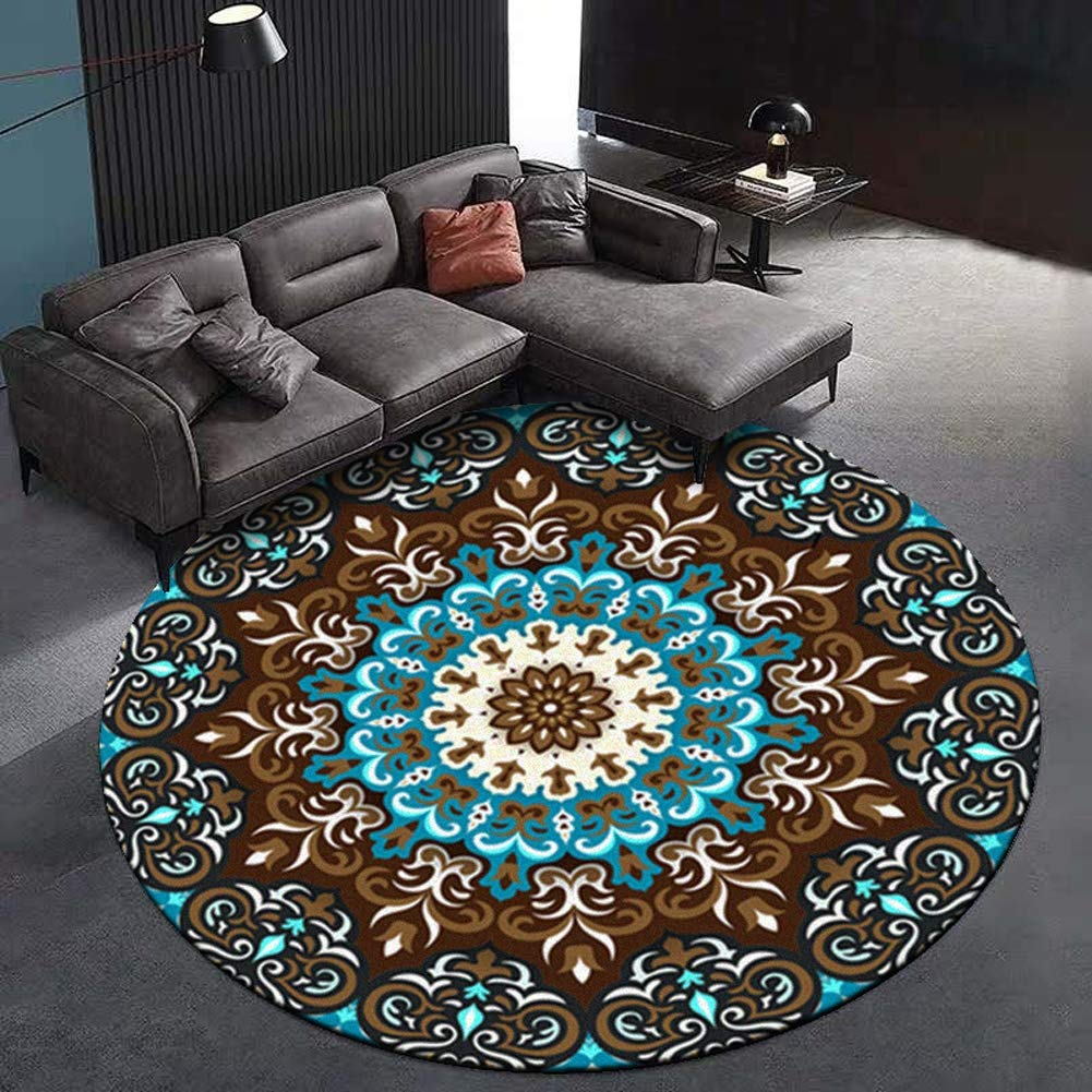 YSX-carpet Alfombra Redonda colchonetas para niños ...