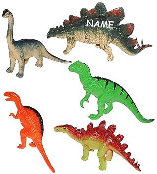Unbekannt 5 Tlg Set Dinosaurier Incl Name Wasserfest