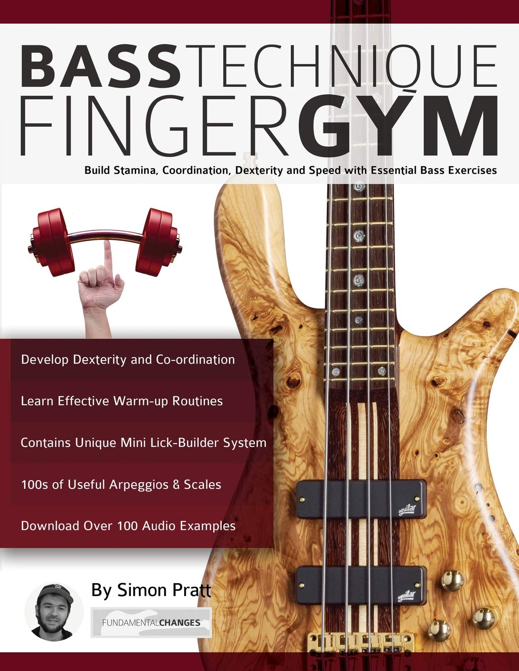 Bass Technique Finger Gym  Build Stamina Coordination Dexterity And Speed With Essential Bass Exercises
