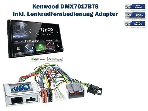 Lenkradfernbedienung Interface+Kenwood Radio Adapter Kabel für Toyota