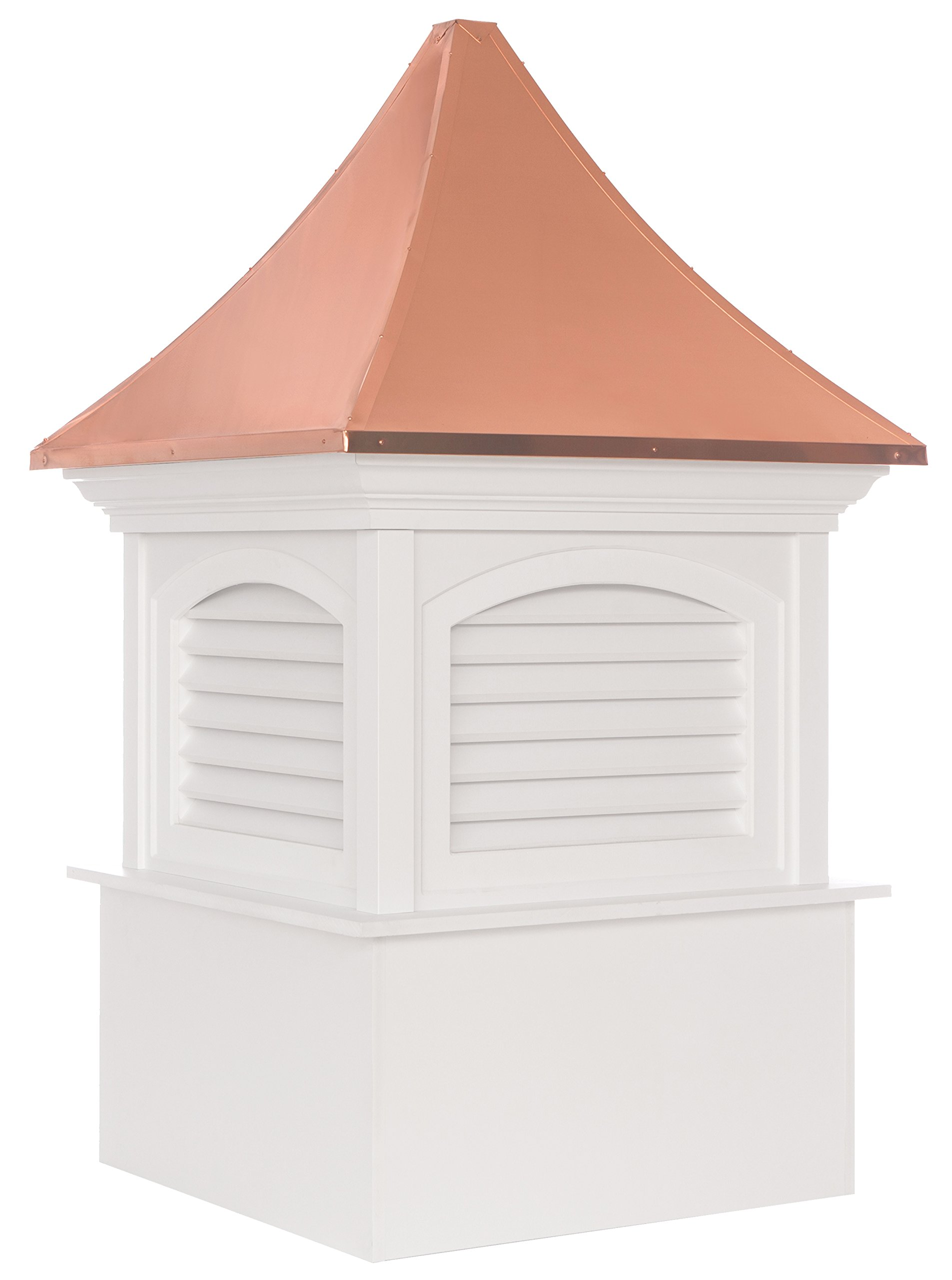 Southington Vinyl Cupola with Copper Roof 42'' x 66'' by Good Directions