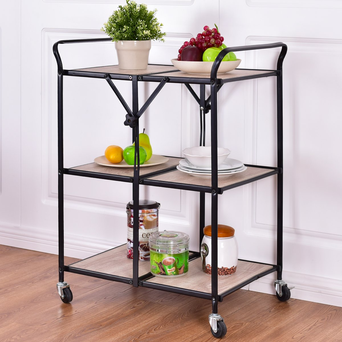 Origami SMBT-02 Foldable Kitchen Island Cart - Buy Online in El ... | 1200x1200