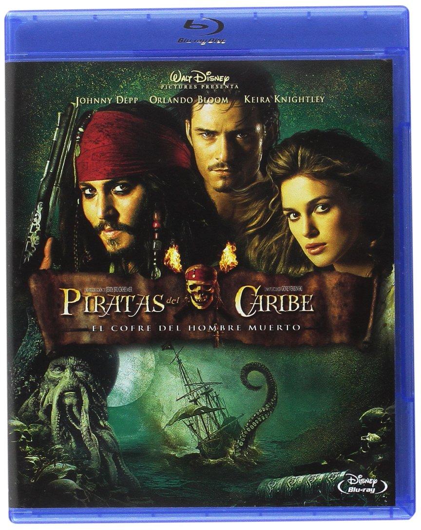 Piratas Del Caribe: El Cofre Del Hombre Muerto Blu-ray: Amazon.es ...