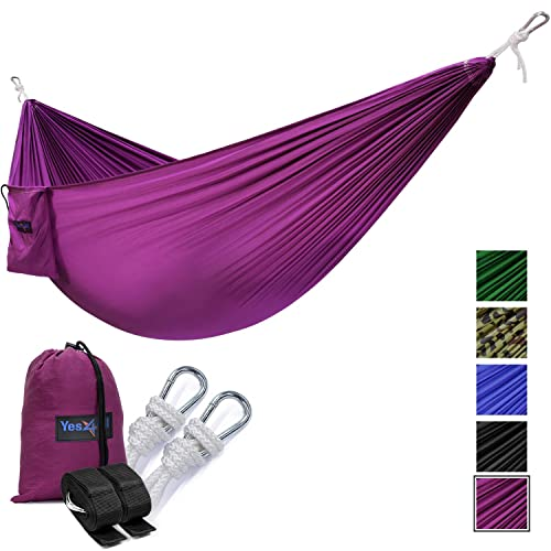 Yes4All Lightweight Parachute Camping Hammock for Single