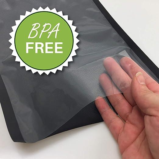 Amazon.com: 8 x 50 negro y bolsa de sellador al aspiradora ...