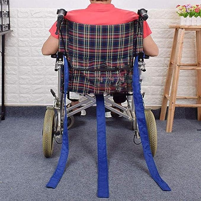 Cinturón de seguridad para sillas de ruedas, soporte para el cuidado del torso para atención médica, banda de sujeción de seguridad Cinturón antideslizante ...
