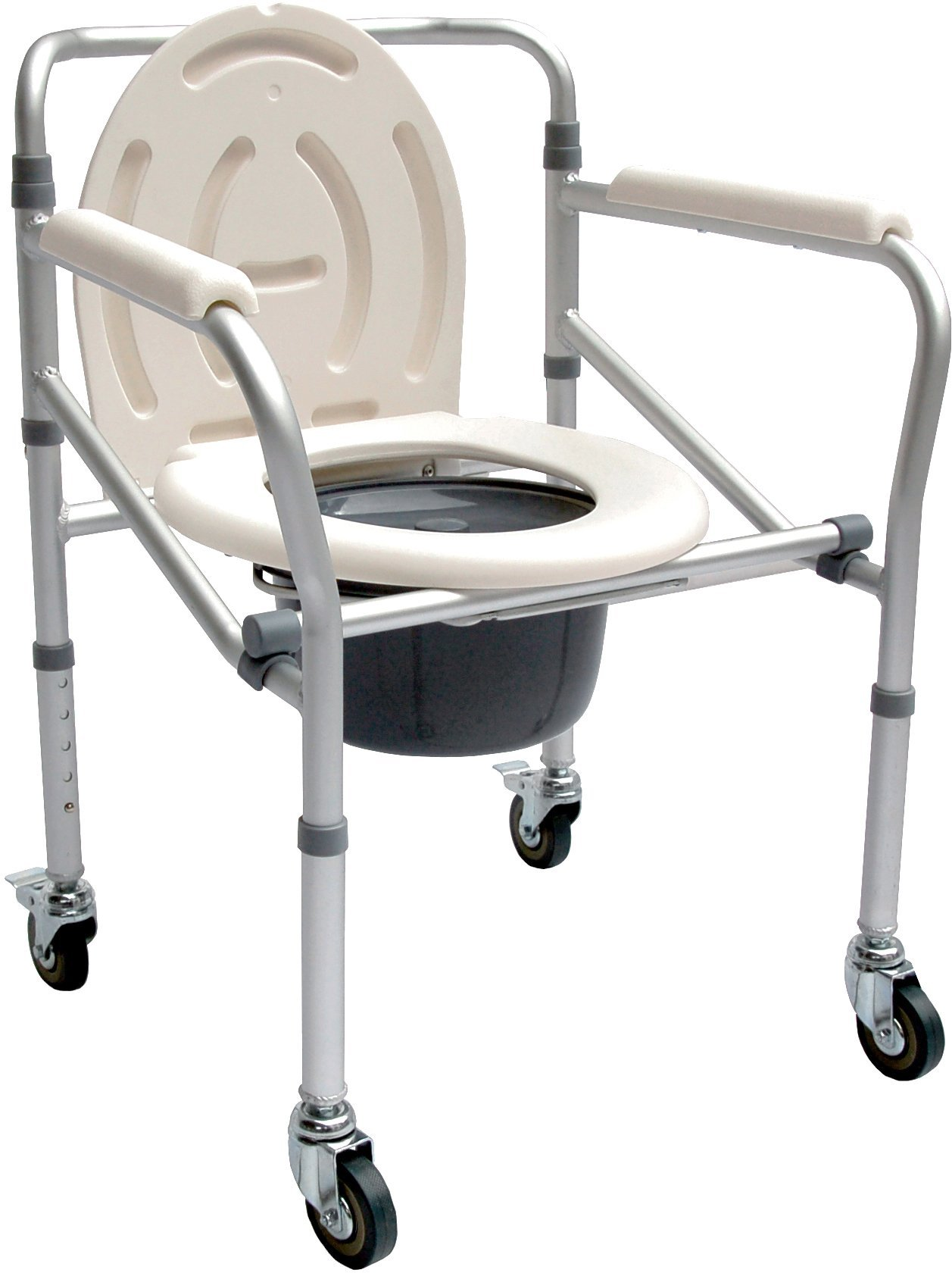 Accela Light Weight Wheeled Commode