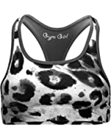 Reversible Sports Bra in Snow Leopard (XS and L only)