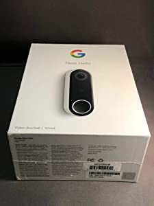 Nest Labs NC5100US NEST 3MP 160° Diagonal Full-Duplex Hello Video Door Phone Sub Station