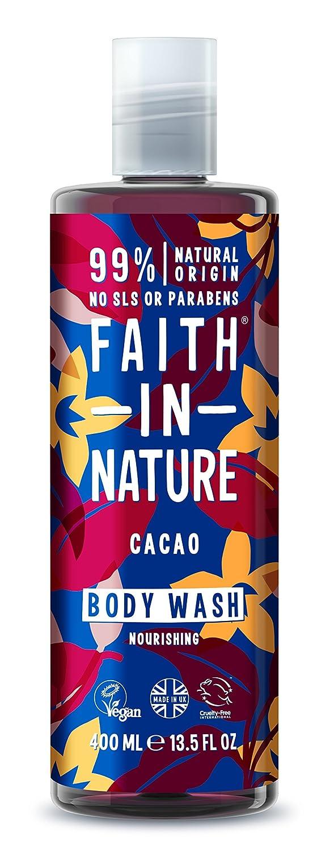 Faith In Nature Chocolate Natural Shower Gel and Foam Bath, 400ml 82388