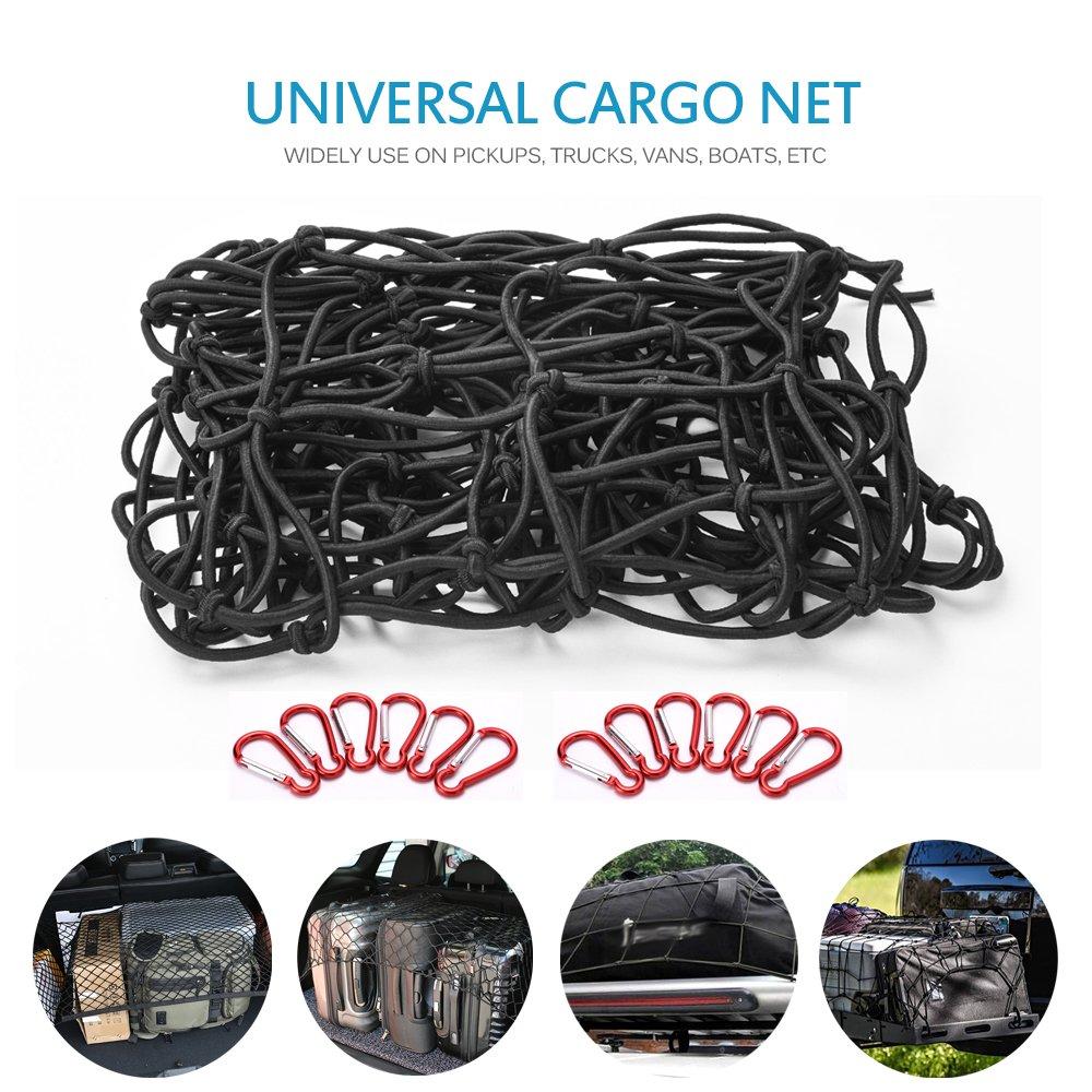 Red de seguridad de equipaje para coche de Mictuning