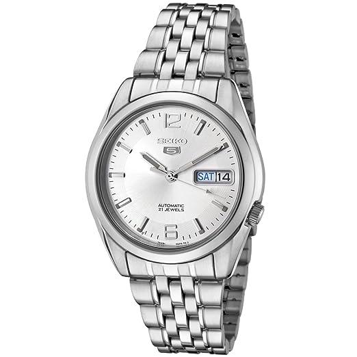 Seiko Reloj Analógico Automático para Hombre con Correa de Acero Inoxidable - SNK385K1: Seiko: Amazon.es: Relojes