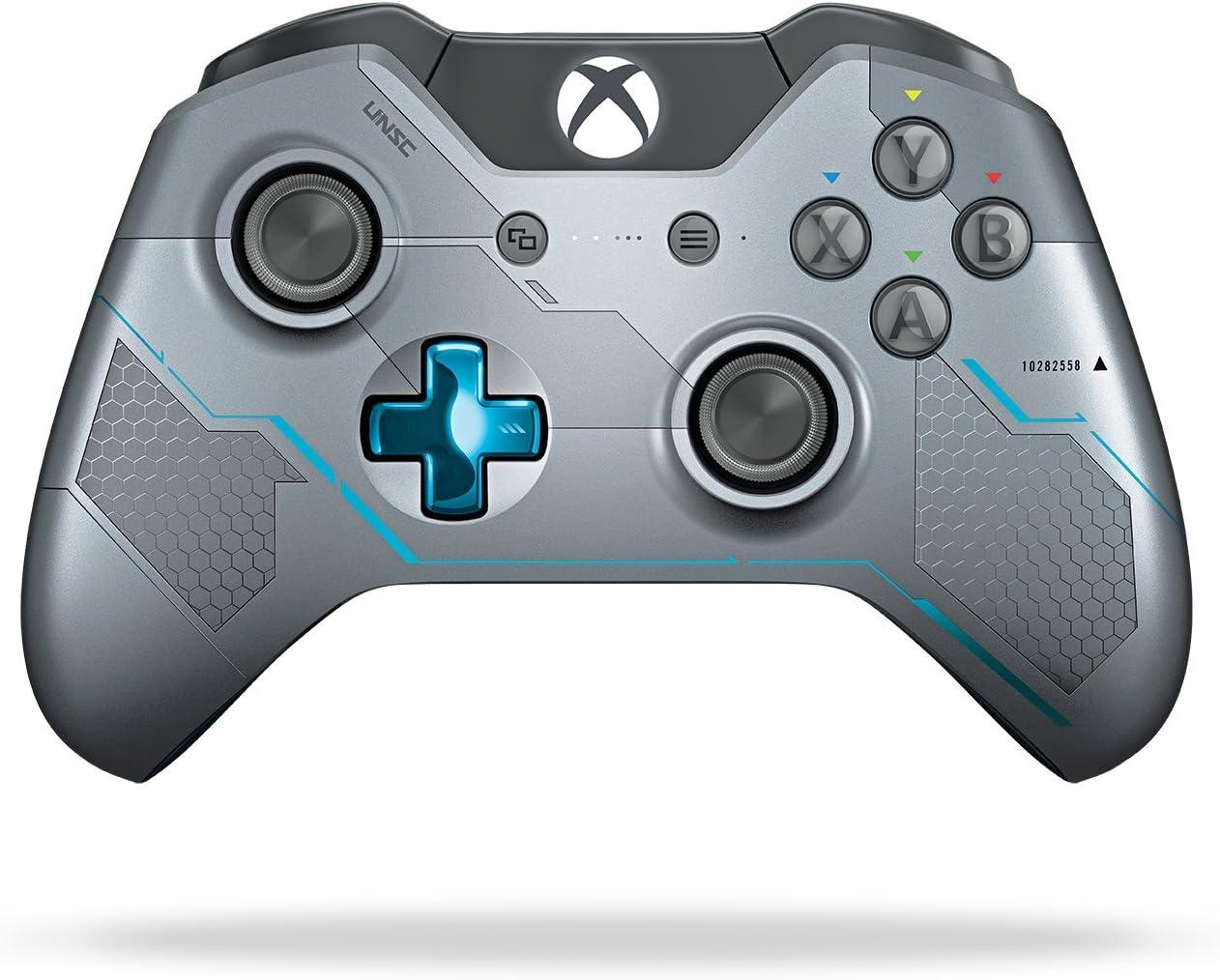 Amazon.com: Xbox One Limited Edition Halo 5: Guardians Wireless ...