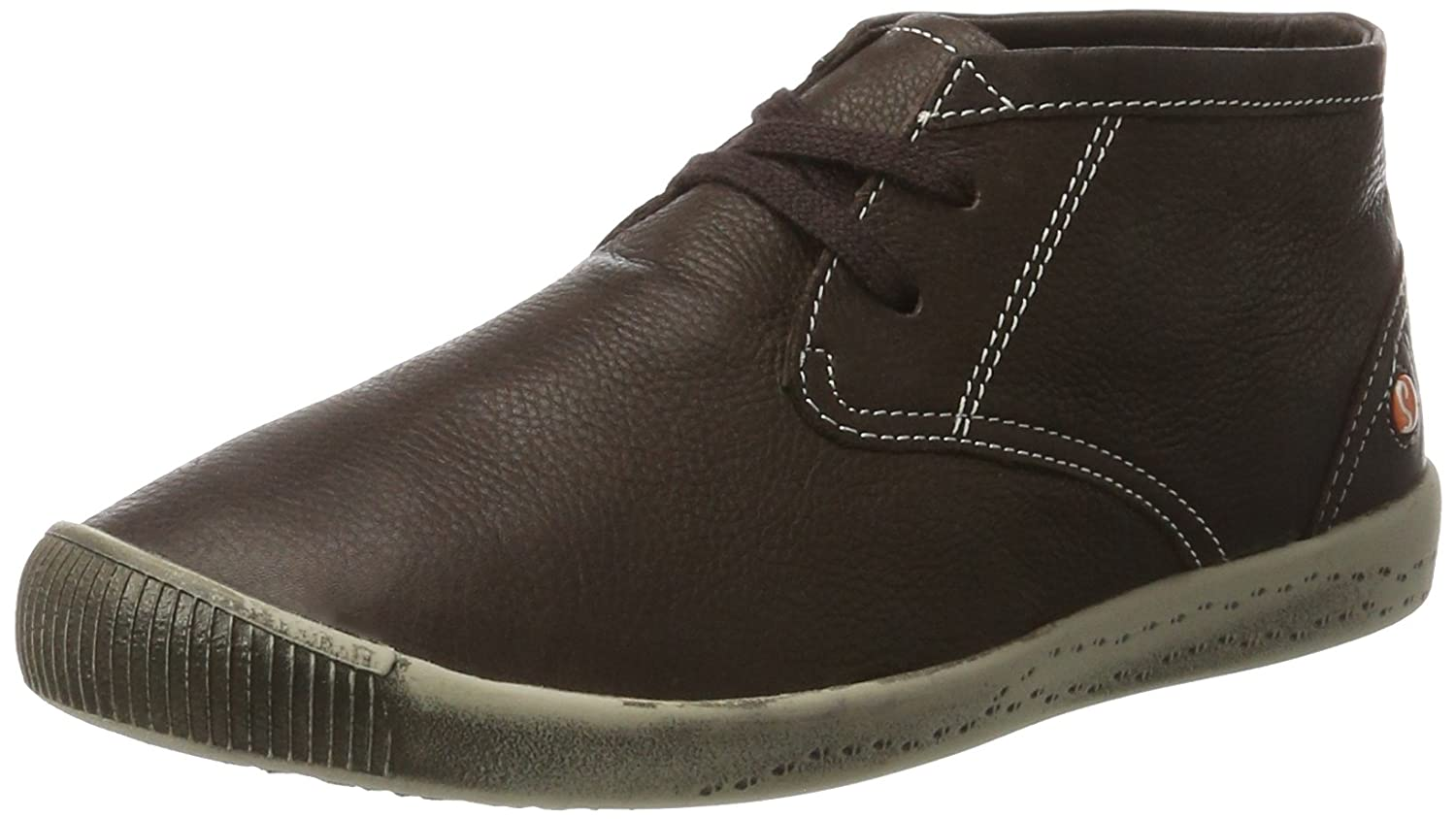 Softinos Indira Smooth, Botas Chukka para Mujer39 EU|Marrón (Dk Brown 531)