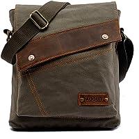 Vintage Canvas Messenger bags for mens Shoulder Bag Crossbody Bag Satchel Bag Travel School Book bag iPad Laptop Bag