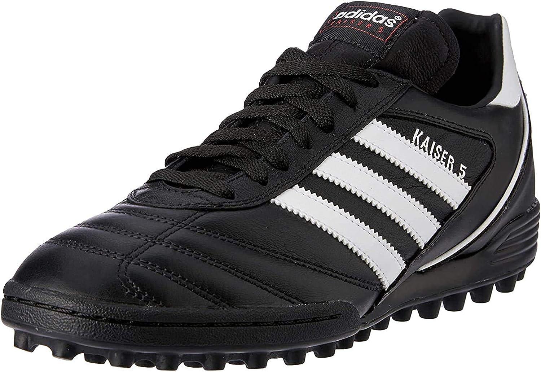 Adidas Kaiser 5 Team Botas de fútbol hombre, Negro,