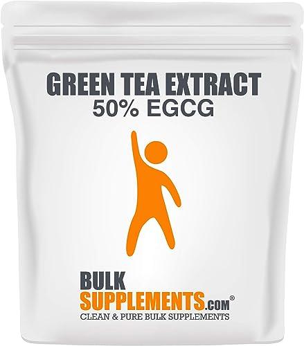 Bulksupplements Green Tea Extract 50 EGCG Powder 100 Grams