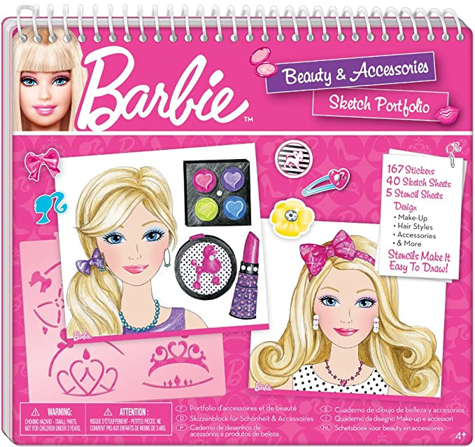 Buy Fashion Angels Barbie Beauty And Accessories Sketch Portfolio