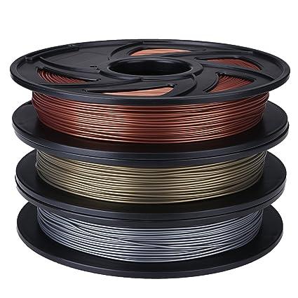HANO Aluminio/e/del Color de Cobre 1,75 mm 0,5 kg / 1.1lb PLA ...