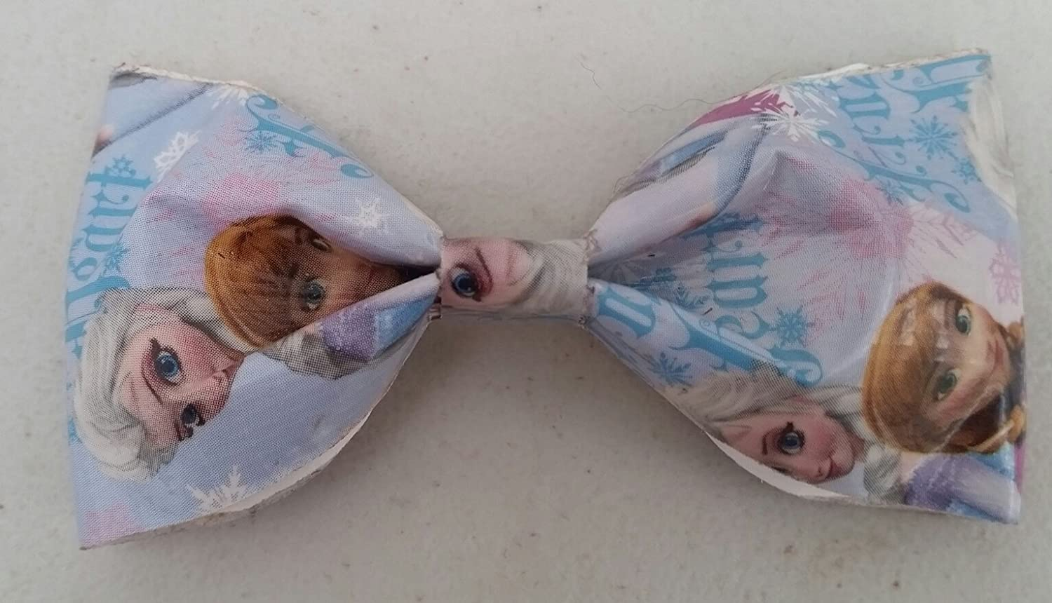 Frozen Anna and Elsa Bobby Pin Hair Bow or Bow Tie