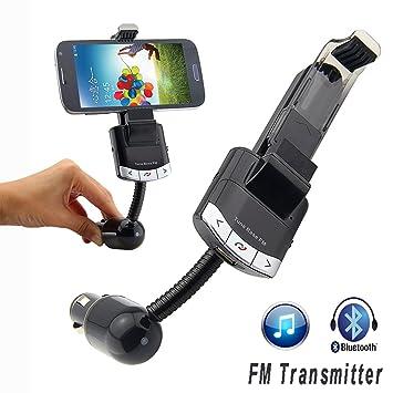 Manos Libres Transmisor Bluetooth MP3 FM GPS Coche para ...