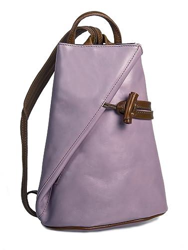 Amazon.com: Big Handbag Shop Womens Genuine Italian Leather ...