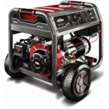 Briggs & Stratton 30470 7000-Watt Gas Powered Portable Generator with 2100 Series 420cc Engine and Key Electric Start, Engine Oil Included (Discontinued by Manufacturer)