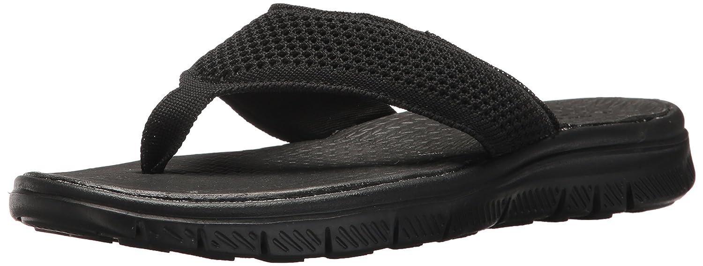 Skechers 51872 Chanclas Hombre 43 EU|Negro Zapatos de moda en línea Obtenga el mejor descuento de venta caliente-Descuento más grande