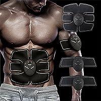 Stimolatore ABS Muscolo addominale Toning AB Cintura, Toner snellente da allenamento Trainer, Gamba del braccio Attrezzi da allenamento Fitness, Esercizio fisico portatile senza fili per uomini Donne