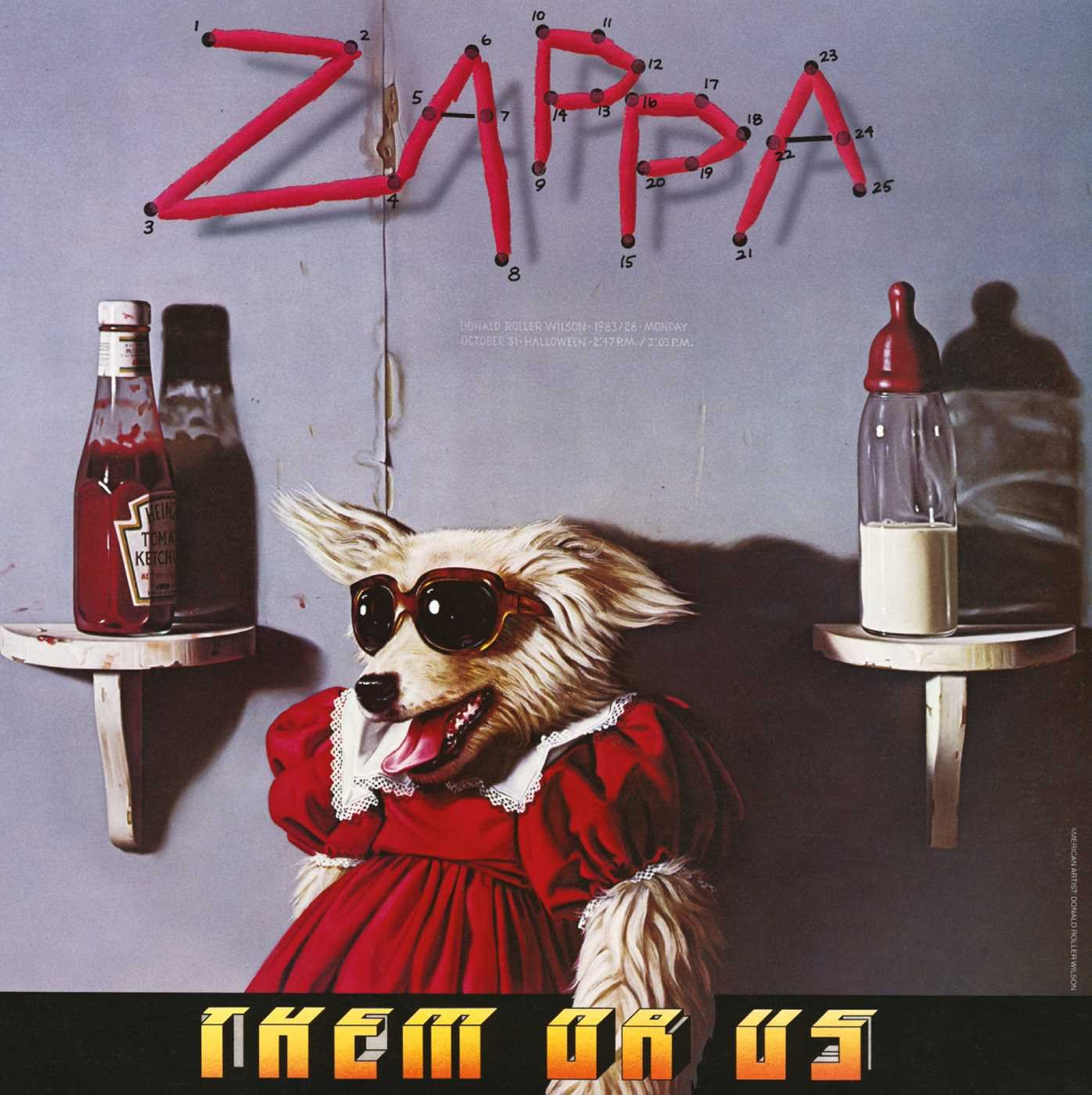CD : Frank Zappa - Them or Us