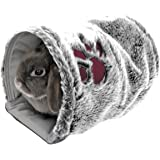 Rosewood Snuggles Reversible Snuggle Pet Tunnel