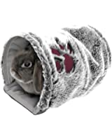 Rosewood Snuggles Reversible Snuggle Pet Tunnel