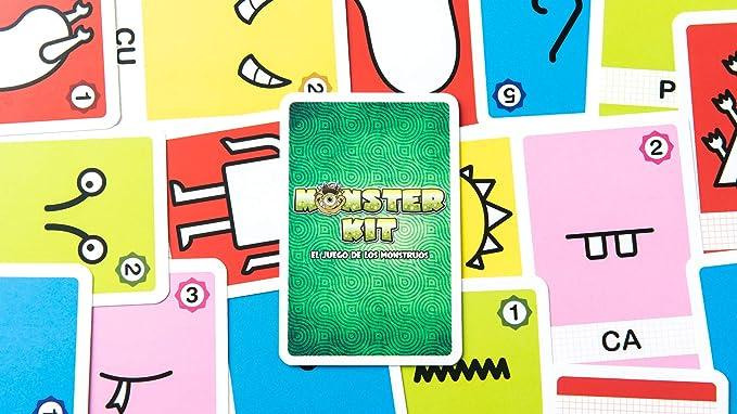 Tranjis Games - Monster Kit - Juego de cartas (TRG-09kit): Amazon.es: Juguetes y juegos