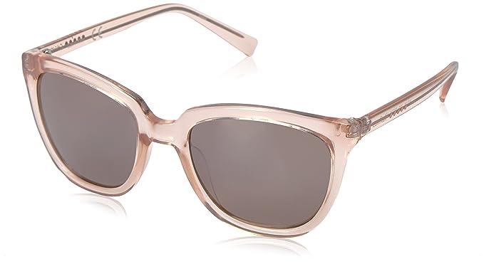 Calvin Klein - gafas de sol, ojo de gato, R711s Mujer, Beige ...